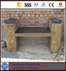 Polished Cheap Stone Garden Bench stone cladding outdoor
