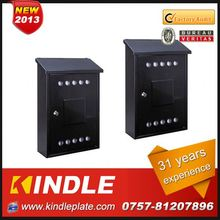Kindle Professional waterproof cast outdoor mailboxes apartments for sale with 31 years experience