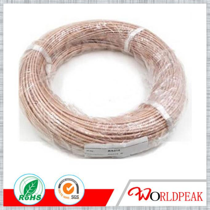 PTFE Silver plated copper Coaxial Cable RG179 RG316
