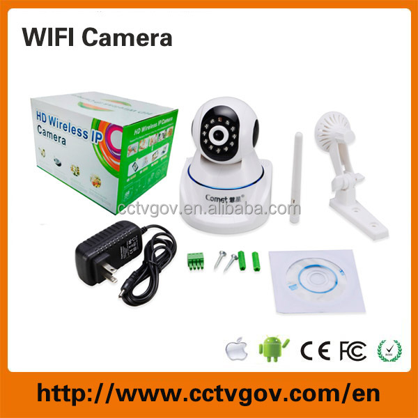 720p Wifi IP Camera PTZ Easy Operate P2P Wireless IP Camera For Home Security