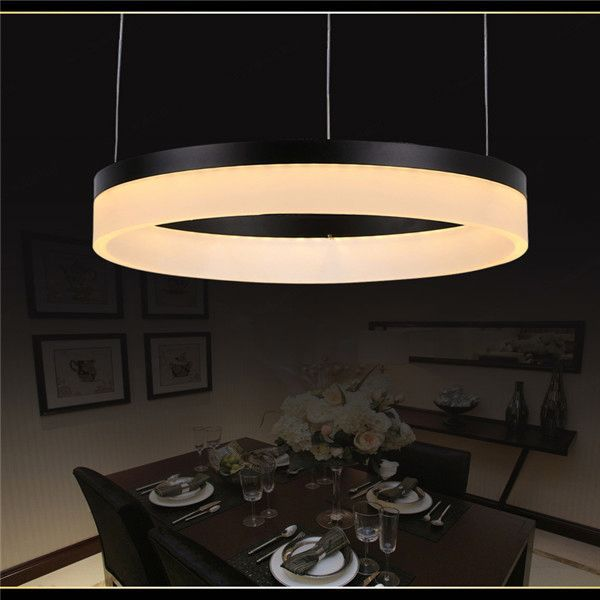 led pendant light for home,DIY 3 circles led pendant lighting, round led chandelier