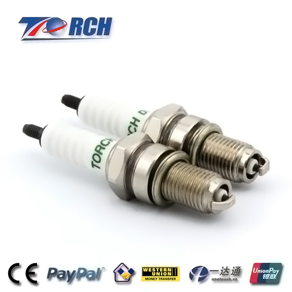 Full models Motorcycle parts of D7TC/D8TC sparkplug used for motorbike PIAGGIO /125cc spark plug