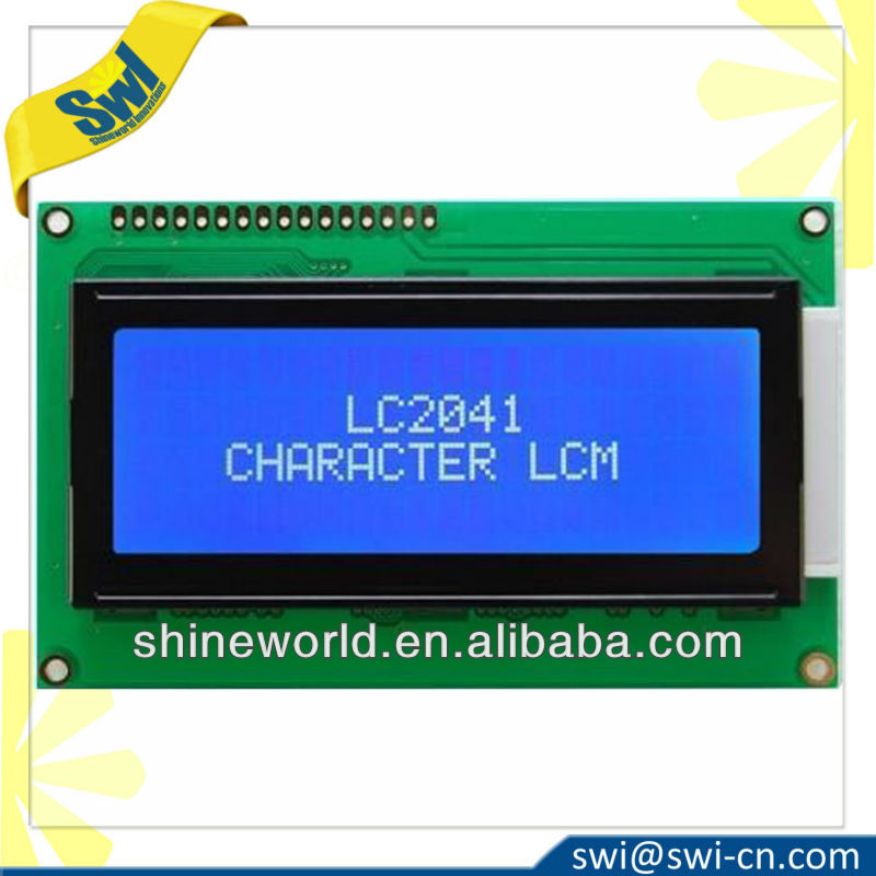 2004 LCD Module Blue Characters White Backlight HD44780