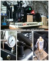 Hengda High Piston 12V 15A 180W metal car air Hengda compressor with LED Light CE certificated