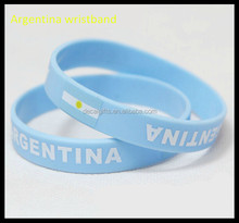 Argentina Football Soccer World Cup Sport Team Silicone Rubber Wristbands Bracelet