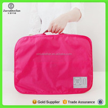 Women Portable Travel Luggage Storage Bag For Clothes Underwear Packing Organizer Nylon Mesh Zipper Cosmetic Pouch