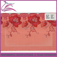 Wholesale 18cm red guipure lace fabric 2015 for underwear