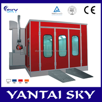 China supplier SKY SB-100 new product spray booth/furniture spray booth paint booth