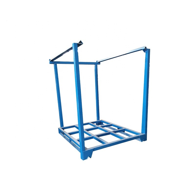 Used Frame Nestainer Stackable Metal Storage <strong>Racks</strong> For Warehouse