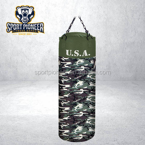 Canvas Heavy Bag Camouflage Sandag Boxing Punching Bag