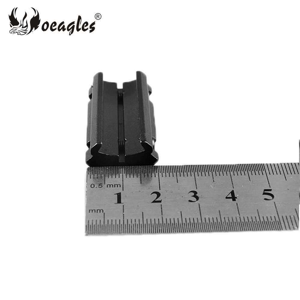 Oeagles D0022A 11mm to 22mm Scope Mount rails converter for Rifle scope mount