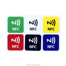Cheap Price paper printed ntag213 NFC sticker