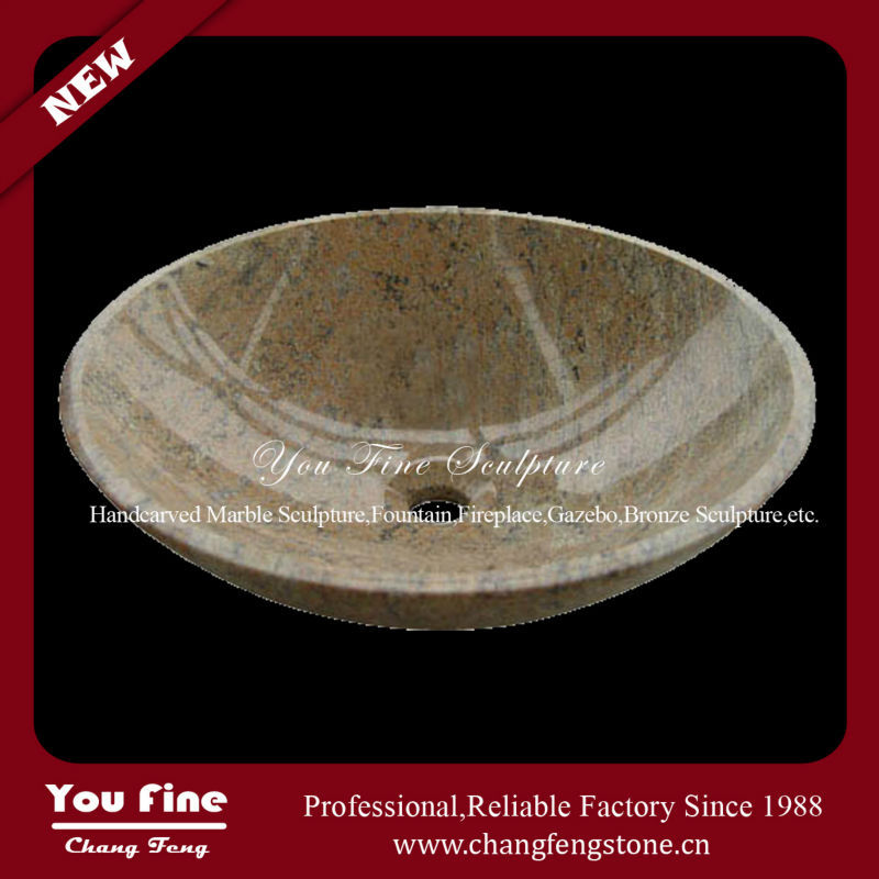 Hand Carved Indoor Used Stone Mini Wash Basin For Sale