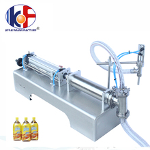 Semi-auto10ml-5000ml bottle vertical oil liquid filling machine