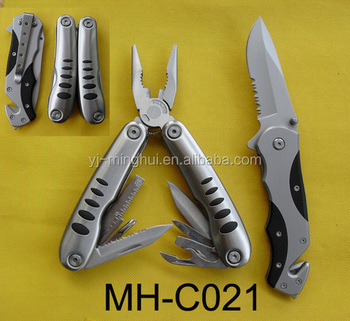 Outdoor knife combination set