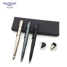 High quality Tactical pen with glass breaker Aircraft Aluminium material self defense weapon and Multi function survival tool