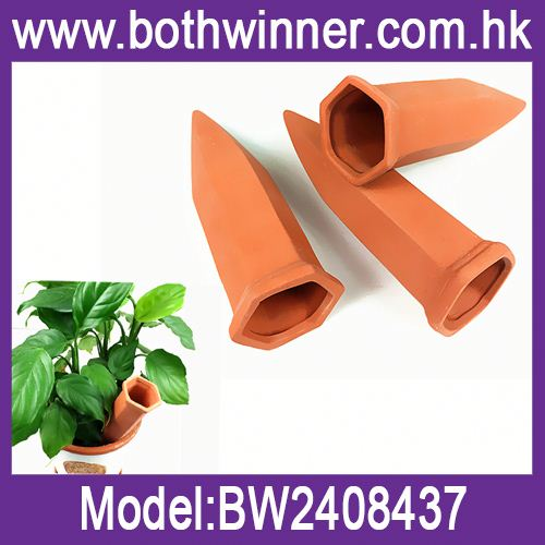Terracotta plant watering dropper ,h0tKU home watering cone for sale