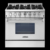 ThorKitchen home 6 burner gas stove with oven
