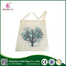 Customized Eco Promotional Small Organic Cotton Drawstring Bag