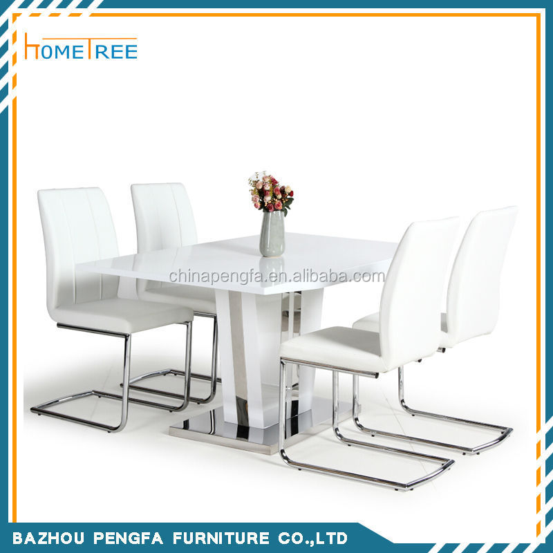 2015 Fashion Design wooden dining table and chairs for dine room furnitur