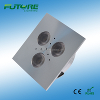 modern kitchen cabinets 3W square puck light led