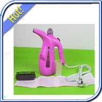 Laundry equipment as advertisement of new product portable travel steam iron