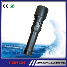 Cave/dive /underwater equipment waterproof led diving flashlight---professional tools