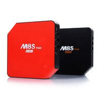 Newest M8S Plus S905 TV Box Quad Core Android 5.1.1 Support BT 4.0 shenzhen set top box