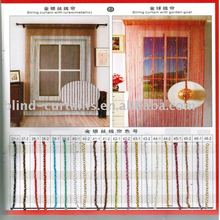 Colors metallic string curtain
