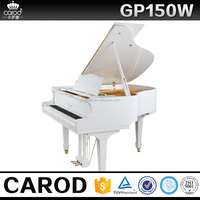 Factory supplied mini grand piano with ffww hammer & LUOs action