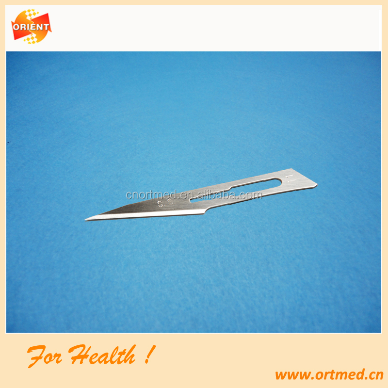 ISO marked sterile Scalpel blade