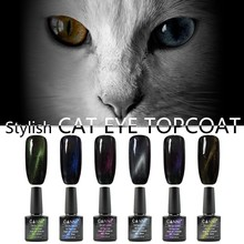 #61509W CANNI nail art 2017 new arrival gel polish chameleon cat eye top coat