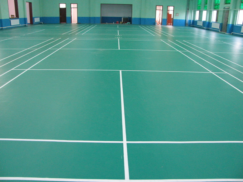 Vinyl sport indoor basketball court vinyl flooring in roll for Indoor basketball court flooring cost