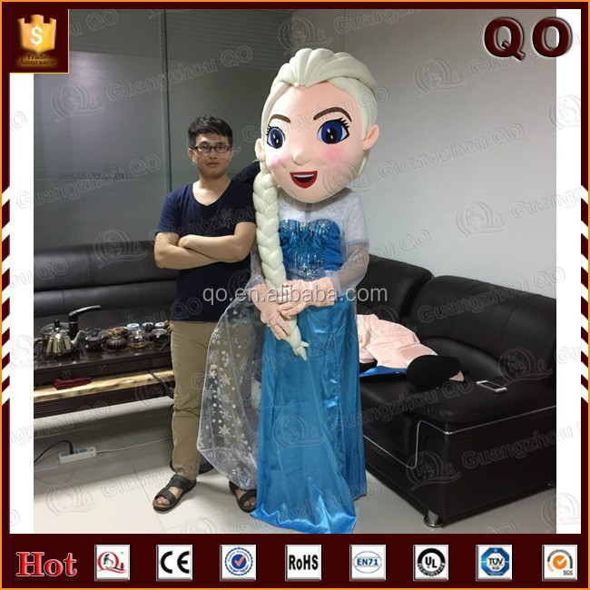 2015 Most popular movie frozen elsa mascot for adults