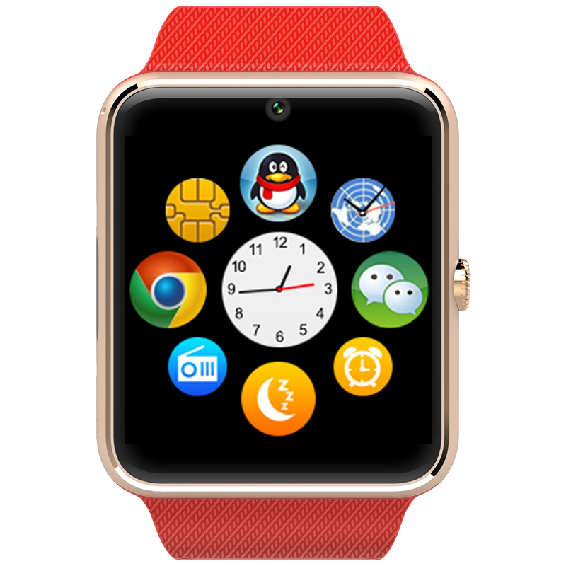 Smart watch with SIM card slot, 1.54 inch touch screen and Smart wrist watch for iOS Android smart phone, gt08