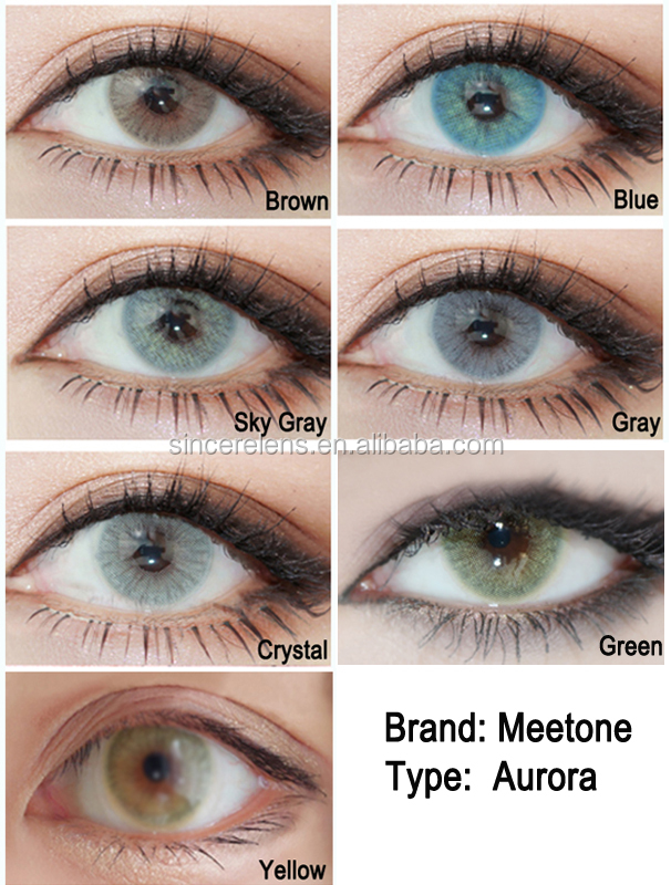 [ Meetone Aurora ] Korea wholesale 14.5mm 1 Tone super natural meetone soft contact lens