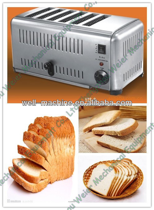 Hot sale stainless steel 4 slice long slot toaster