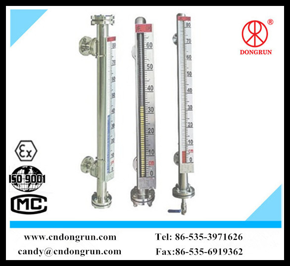 china made UHZ-99A side -mounted magnetic water liquid level sensor/oil tank level measurement