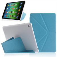 2014 Hot High Quality Leather Case for Tablet PC Xiaomi Mipad , Transformer flip Case for Xiaomi Tablet Mipad with Stand