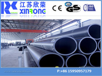best selling high quality hdpe pipe production line