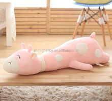 Giraffe Big Hugging Pillow Soft Plush Toy Stuffed Animals Pink 30cm / Giraffe Pillow Animal Shape