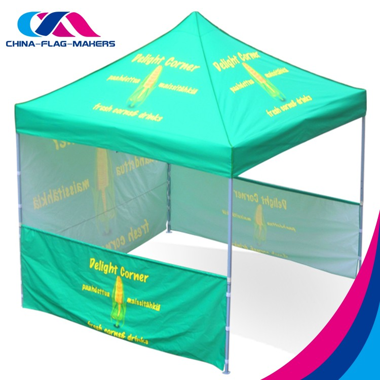 custom logo pop up business exhibition event display foldable easy up canopy tent