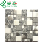 WGM-16 High Quality square Marble Mosaic for interior derocations