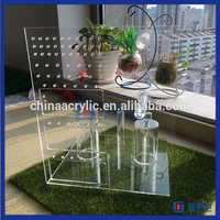 Cheap wholesale acrylic body piercing luxury jewelry display stand /Bracelet Display / acrylic earring display stand