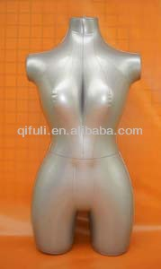 Inflatable Female Mannequin Big Breasted