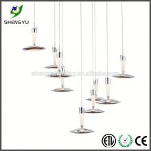 new design led bertjan pot light supplier european design pendant light with acrylic droplets