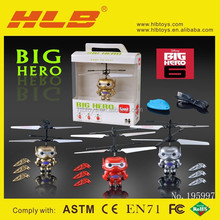 Newest!Big hero 6 suspension aircraft.3 seconds autotakeoff#195997
