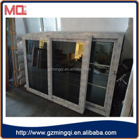 PVC tint glass new window grill design for Africa market