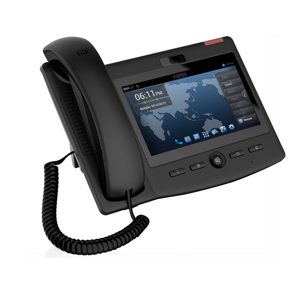 Top selling High quality power line communication Android 4.2 C600 Enterprise Smart Video IP Phone
