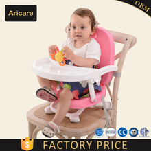 Adjustable Height Foldable Baby Chair for outdoor dinning
